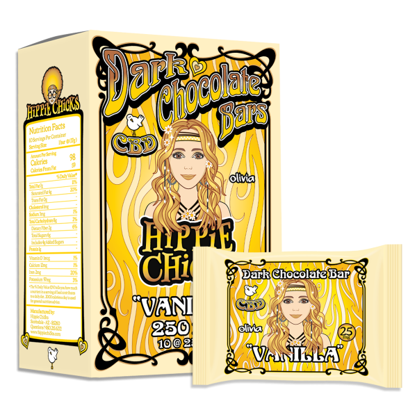 hippie-chicks-cbd-dark-chocolate-bars-vanilla_CBD-edibles_hemp oil