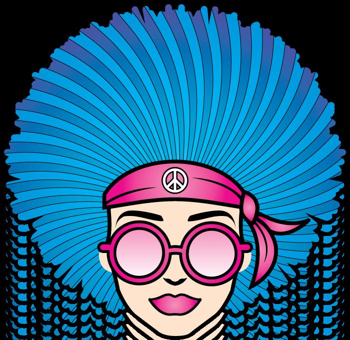 hippie-chicks-head-logo-for-cbd_cbd-tincture_cbd-cream_cbd-gummies_cbd-chocolate
